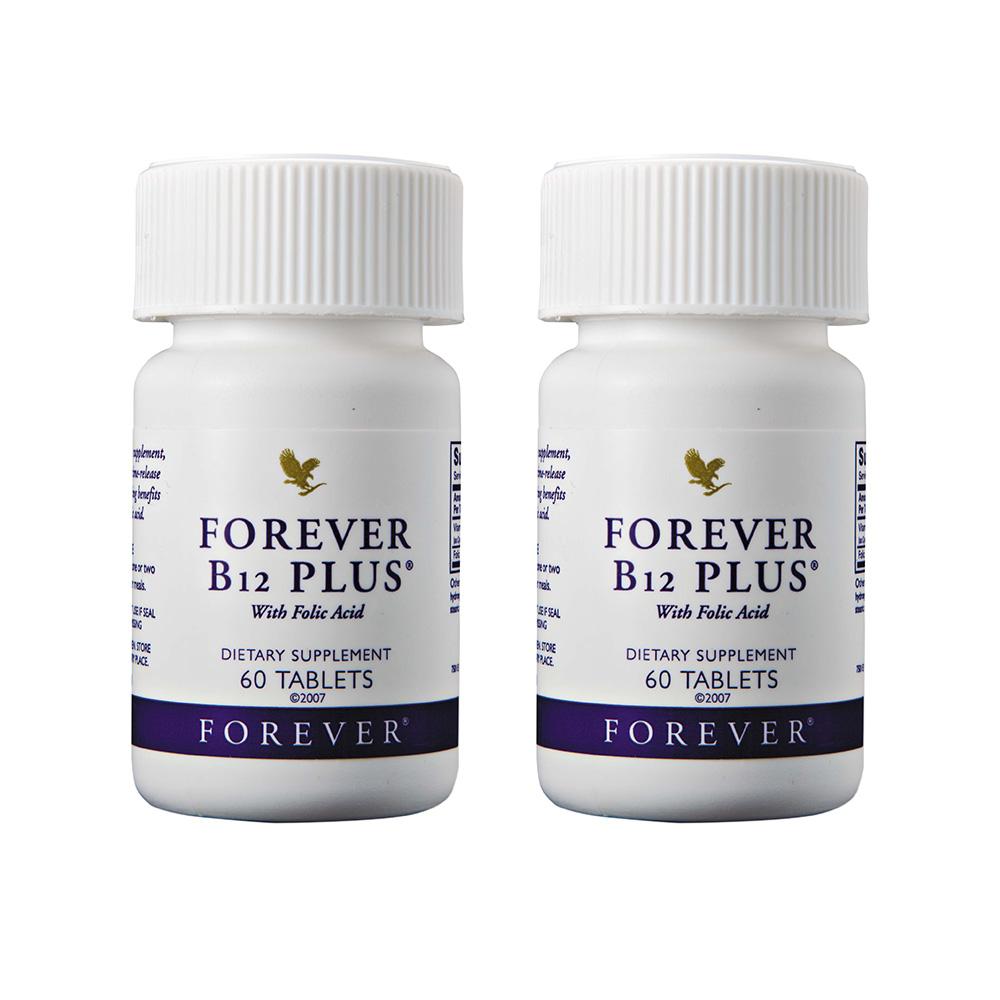포에버리빙 비타민 B12+엽산 500mg * 2병